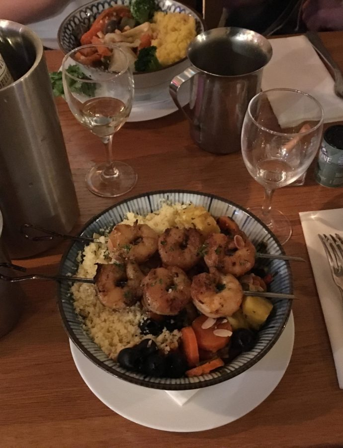Gluten Free Couscous in Paris
