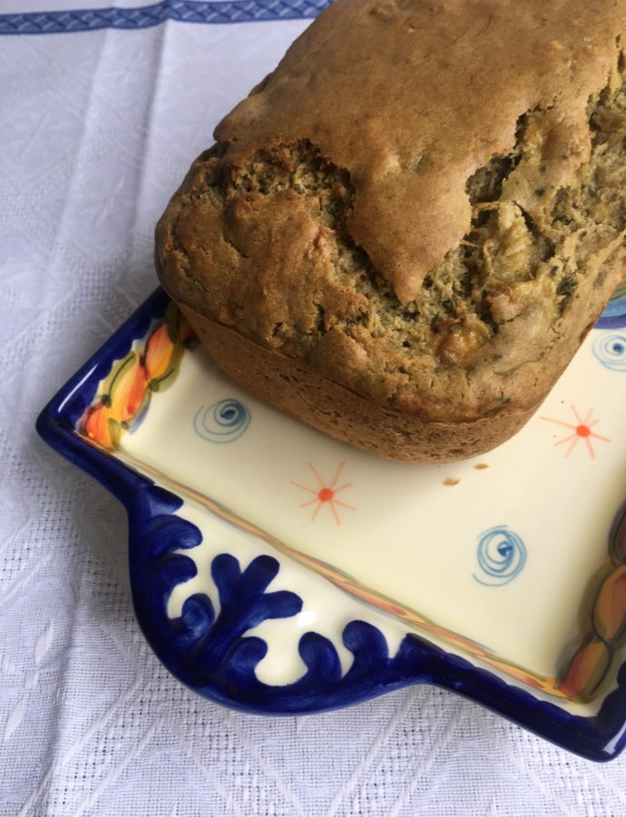 Gluten-Free Green Tea Banana Bread